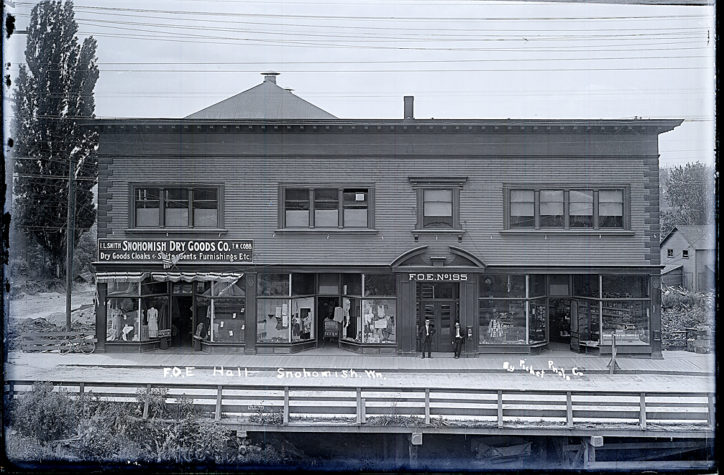 snohomish then and now