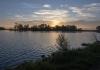 4. Sunset over Park Lake, near Lethbridge