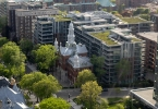 4. View from the Ceil! -- A church converted to condos.
