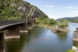 1. The old RR bridge at Harper's Ferry is on the Appalachian Trail!